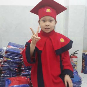 Lễ phục tốt nghiệp mầm non, mẫu giáo