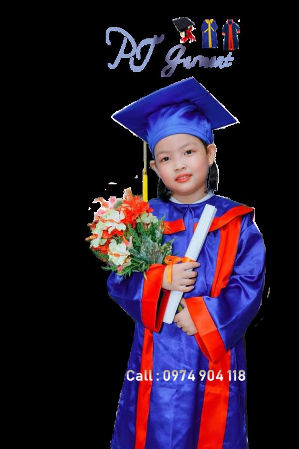 Nơi may áo tốt nghiệp tiểu học
